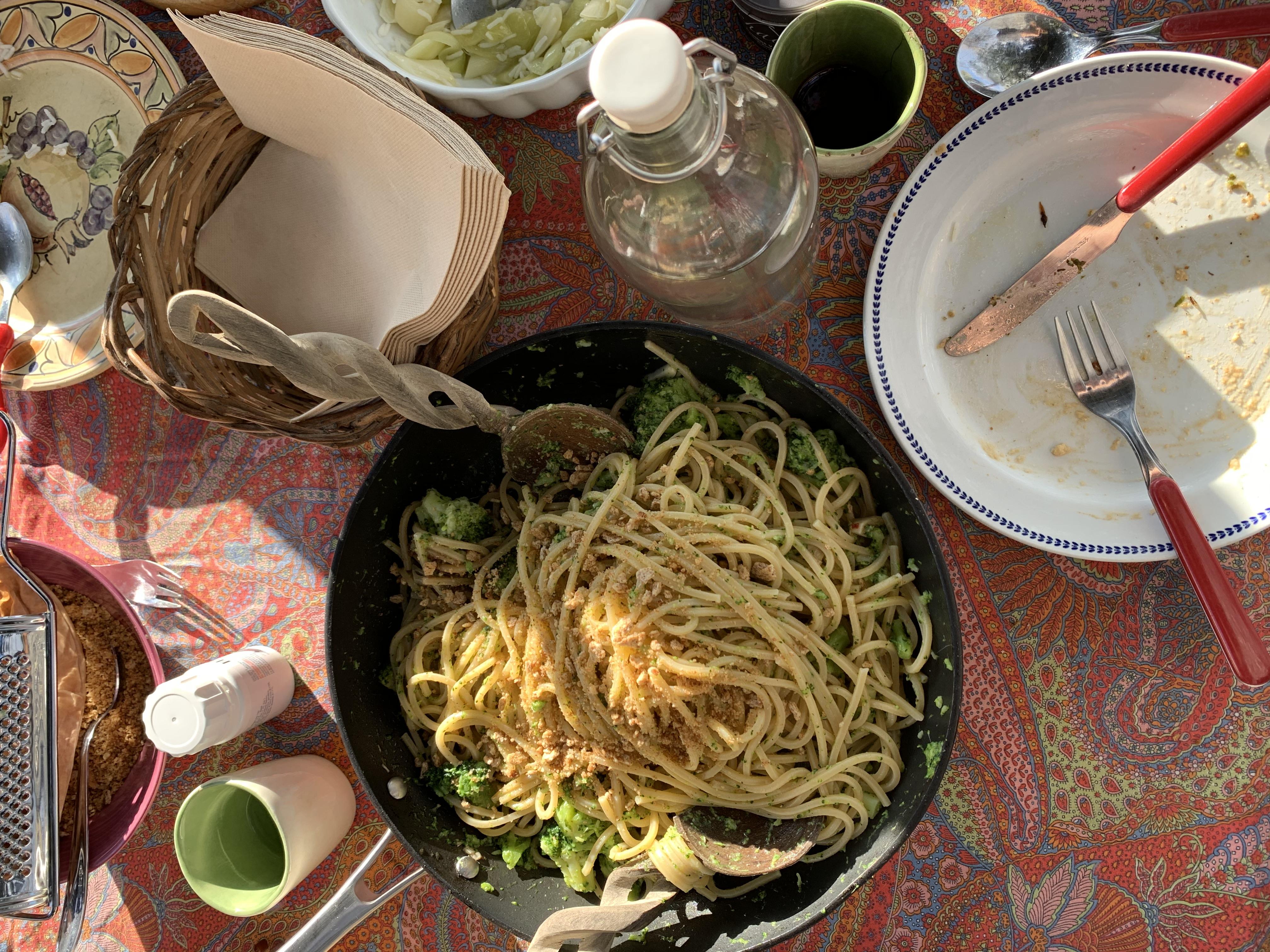 Brokolili Spaghetti